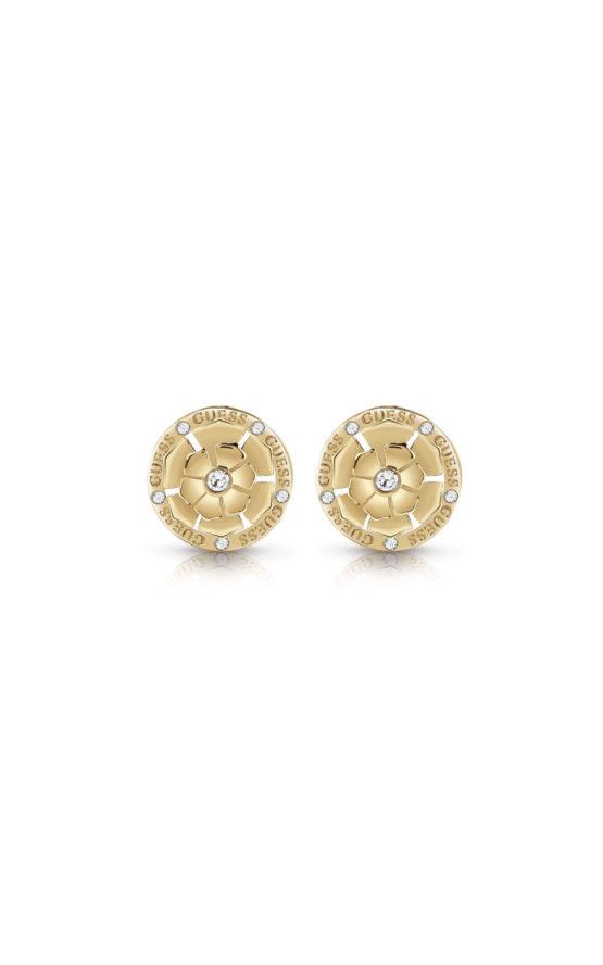 GUESS FAUX UBE28054 Χρυσά Σκουλαρίκια Με Σχέδιο 57af5eaab5b