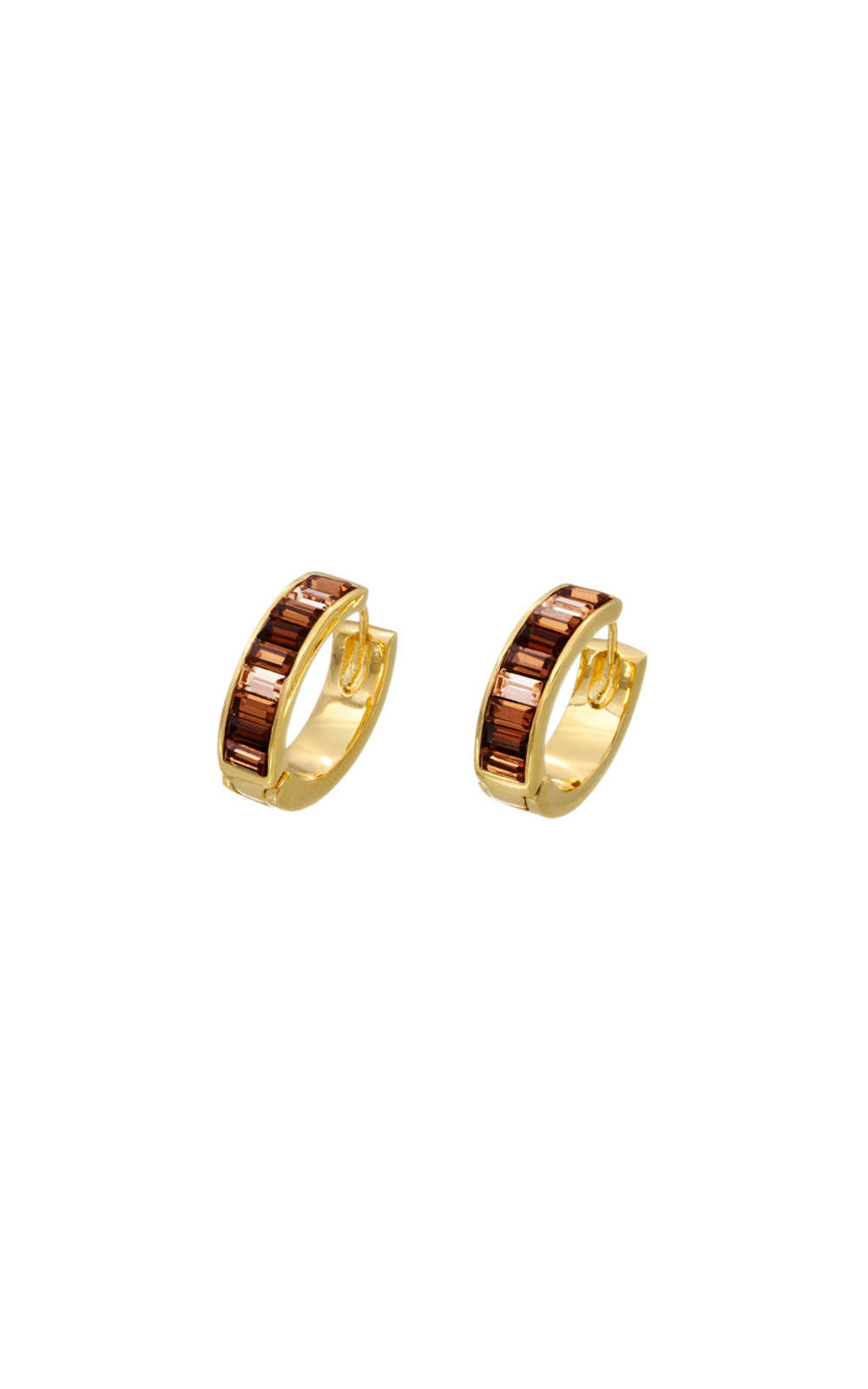 GUESS FAUX UBE51403 Χρυσά Σκουλαρίκια Με Πέτρες 4eabe576981