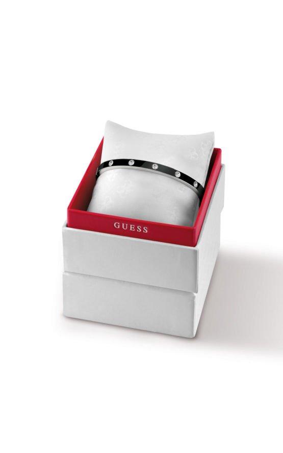 GUESS FAUX UBS28005-L Δίχρωμο Βραχιόλι Με Πέτρες