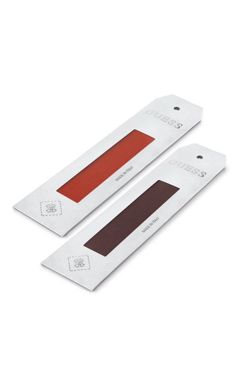 GUESS FAUX UBS84033 Πορτοκαλί & Καφέ Δέρμα