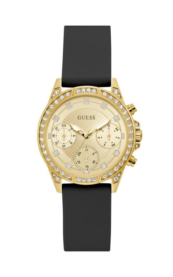 GUESS GEMINI GW0222L1 Γυναικείο Ρολόι Quartz Χρονογράφος Ακριβείας