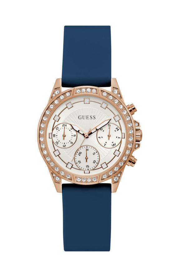 GUESS GEMINI GW0222L2 Γυναικείο Ρολόι Quartz Χρονογράφος Ακριβείας