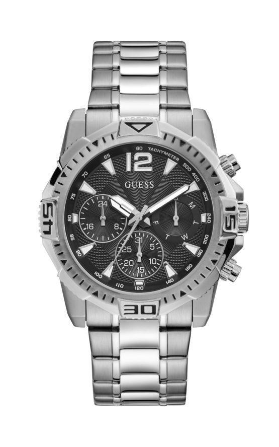 GUESS GW0056G1 Ανδρικό Ρολόι Quartz Χρονογράφος Ακριβείας