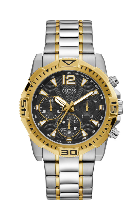 GUESS GW0056G4 Ανδρικό Ρολόι Quartz Χρονογράφος Ακριβείας