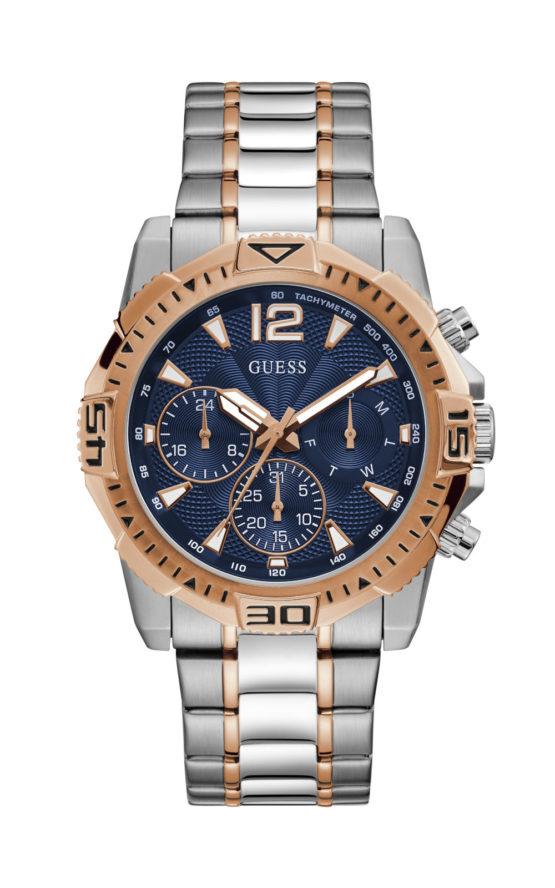 GUESS GW0056G5 Ανδρικό Ρολόι Quartz Χρονογράφος Ακριβείας