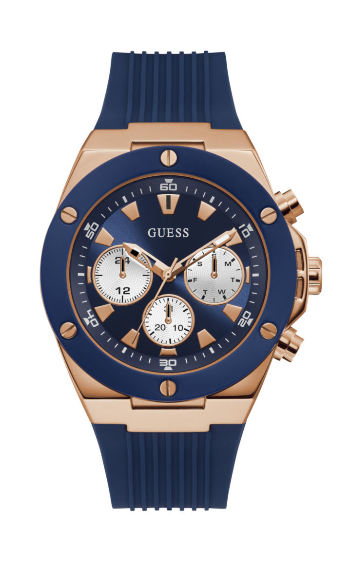 GUESS GW0057G2 Ανδρικό Ρολόι Quartz Χρονογράφος Ακριβείας