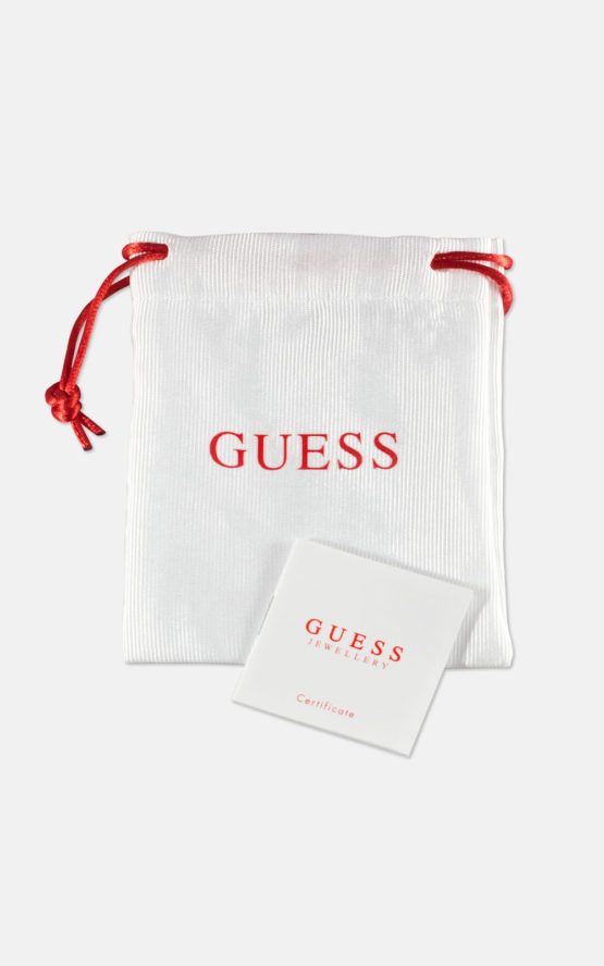 GUESS JEWEL WOMAN WHITE POUCH