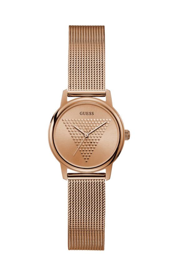 GUESS MICRO IMPRINT GW0106L3 Γυναικείο Ρολόι Quartz Ακριβείας