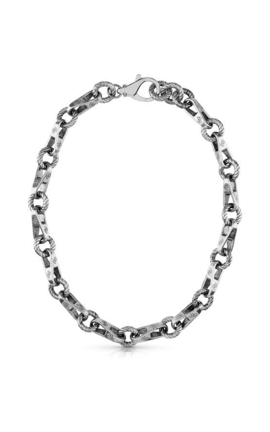 GUESS STEEL JUBN01002JWAST-U Ασημένιο Κολιέ Αλυσίδα