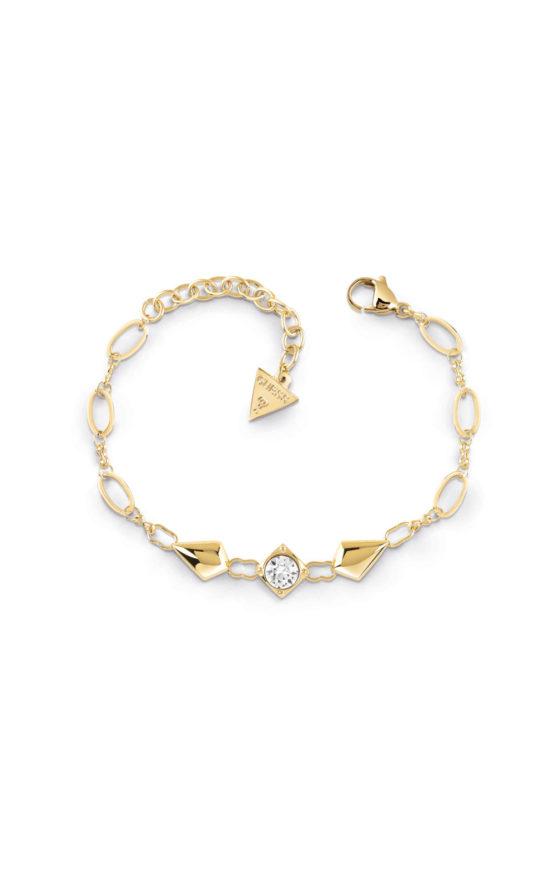 GUESS STEEL UBB29149-S Χρυσό Βραχιόλι Με Ρόμβους