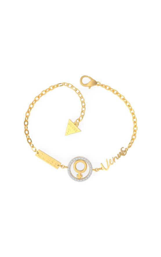 GUESS STEEL UBS29025-S Χρυσού Βραχιόλι Venus