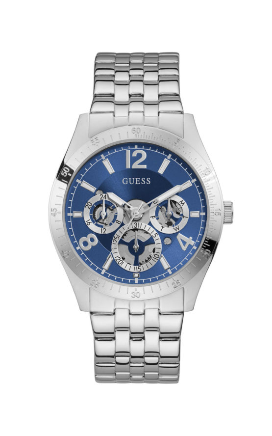 GUESS VECTOR GW0215G1 Ανδρικό Ρολόι Quartz Multi-Function
