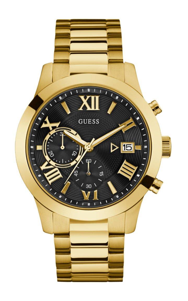 GUESS W0668G8 Ανδρικό Ρολόι Quartz Χρονογράφος Ακριβείας