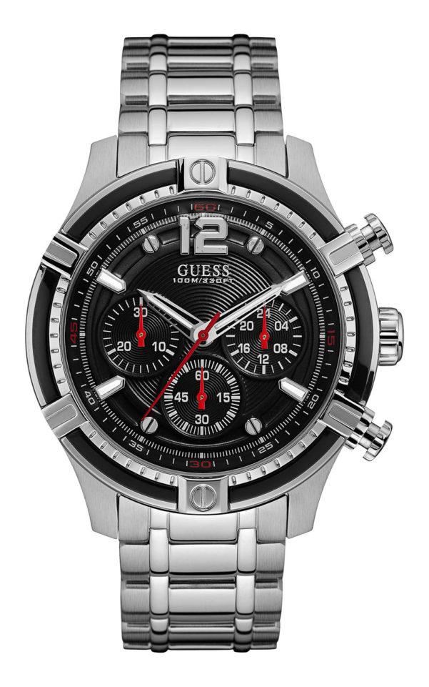 GUESS W0968G1 Ανδρικό Ρολόι Quartz Χρονογράφος Ακριβείας