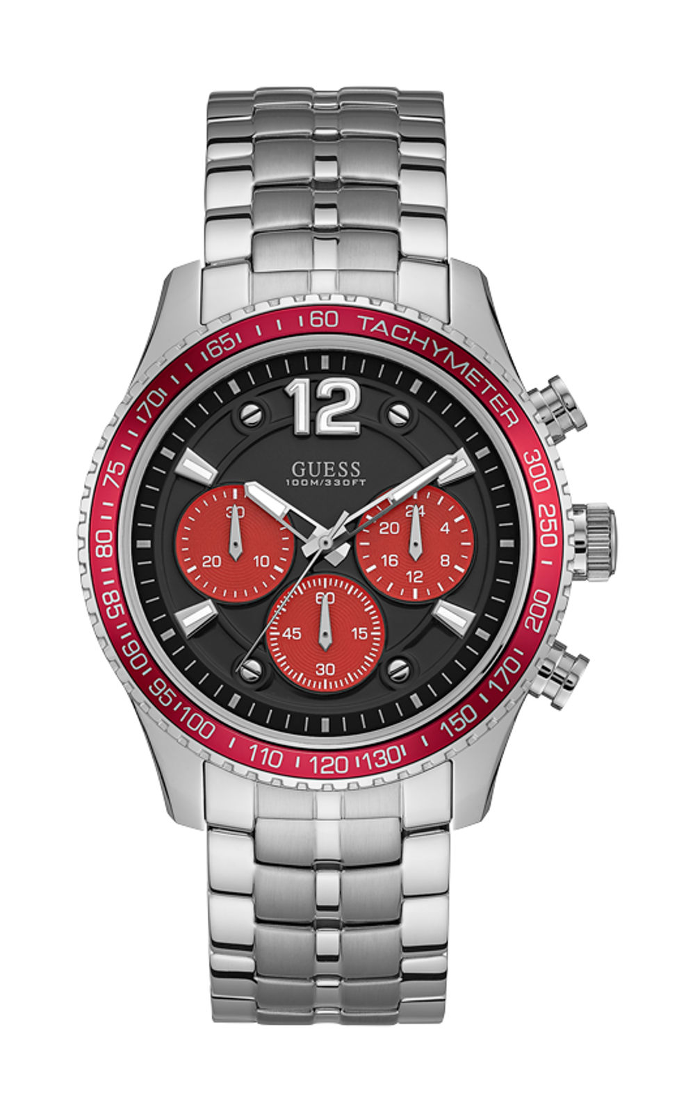 GUESS W0969G3 Ανδρικό Ρολόι Quartz Χρονογράφος Ακριβείας