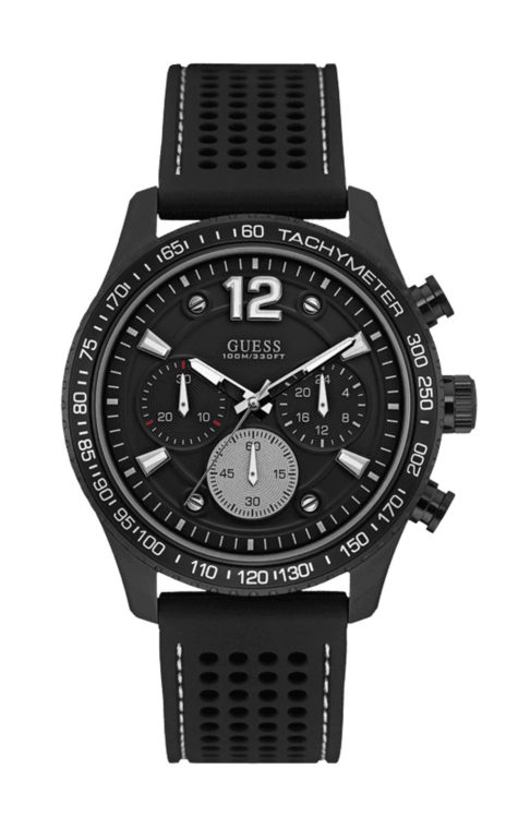 GUESS W0971G1 Ανδρικό Ρολόι Quartz Χρονογράφος Ακριβείας
