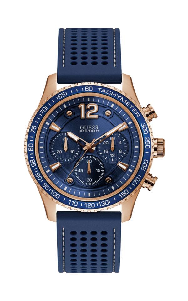 GUESS W0971G3 Ανδρικό Ρολόι Quartz Χρονογράφος Ακριβείας