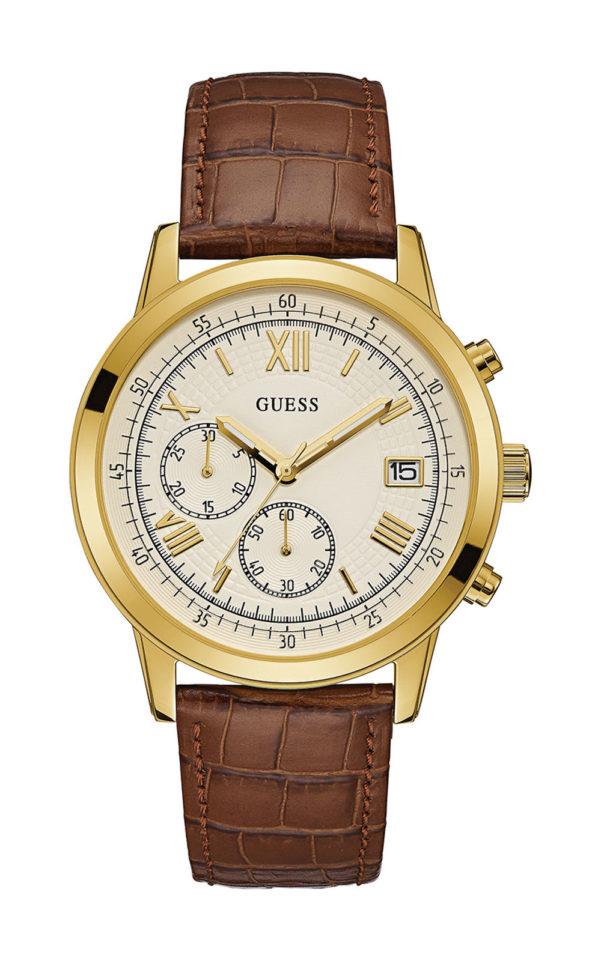GUESS W1000G3 Ανδρικό Ρολόι Quartz Χρονογράφος Ακριβείας