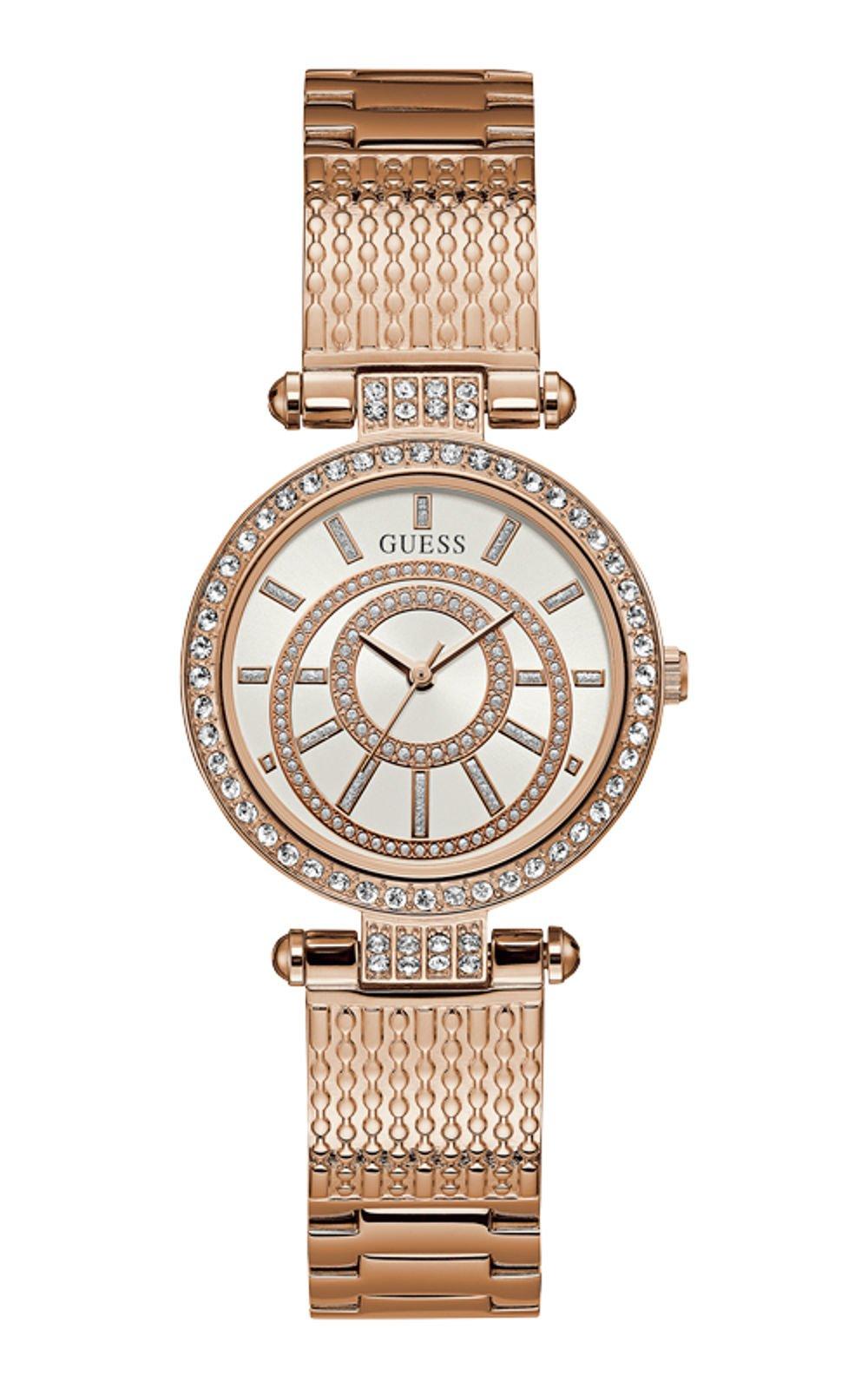 GUESS W1008L3 Γυναικείο Ρολόι Quartz Ακριβείας