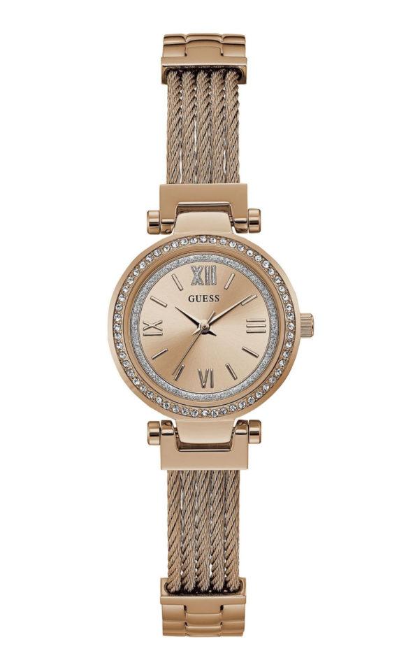 GUESS W1009L3 Γυναικείο Ρολόι Quartz Ακριβείας