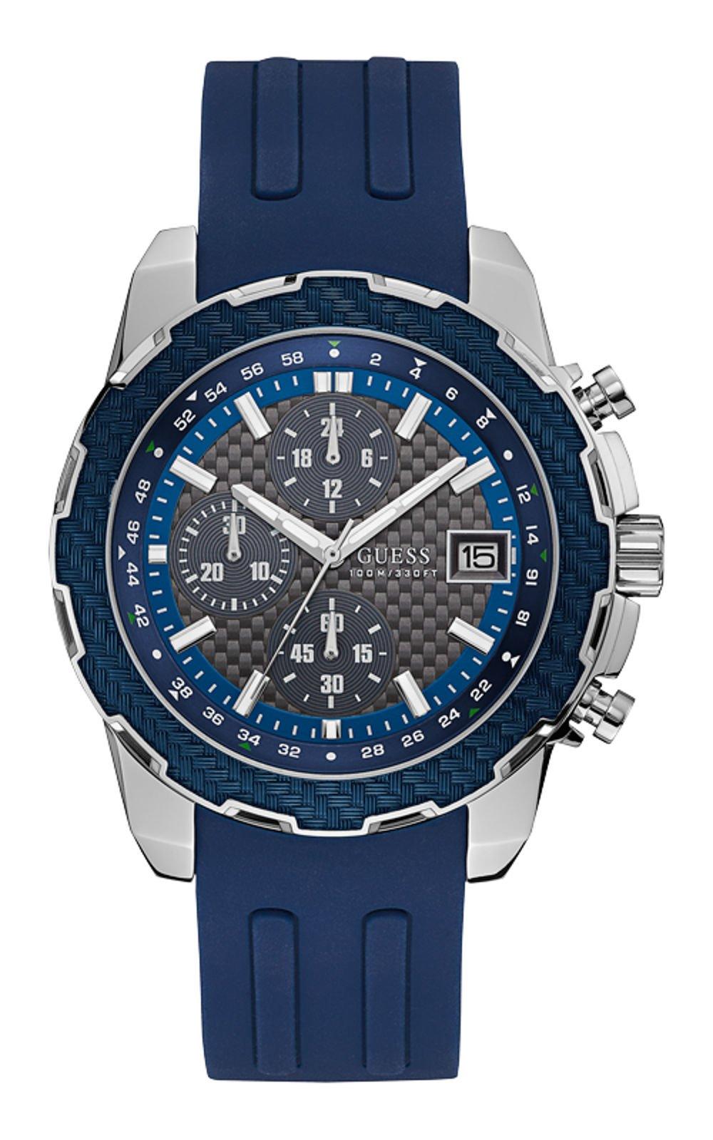 GUESS W1047G2 Ανδρικό Ρολόι Quartz Χρονογράφος Ακριβείας