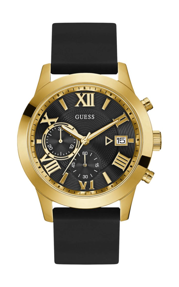 GUESS W1055G4 Ανδρικό Ρολόι Quartz Χρονογράφος Ακριβείας