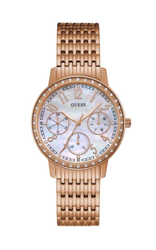 GUESS W1086L2 Γυναικείο Ρολόι Quartz Multi-Function