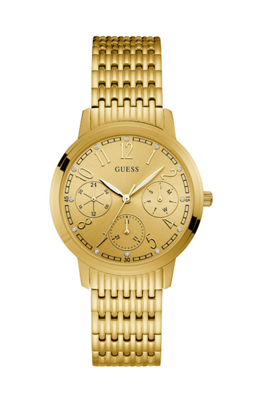 GUESS W1088L1 Γυναικείο Ρολόι Quartz Multi-Function