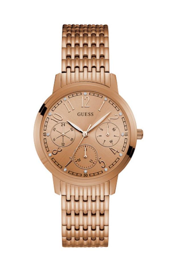 GUESS W1088L2 Γυναικείο Ρολόι Quartz Multi-Function