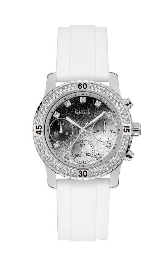 GUESS W1098L1 Γυναικείο Ρολόι Quartz Χρονογράφος Ακριβείας