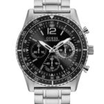 GUESS W1106G1 Ανδρικό Ρολόι Quartz Χρονογράφος Ακριβείας