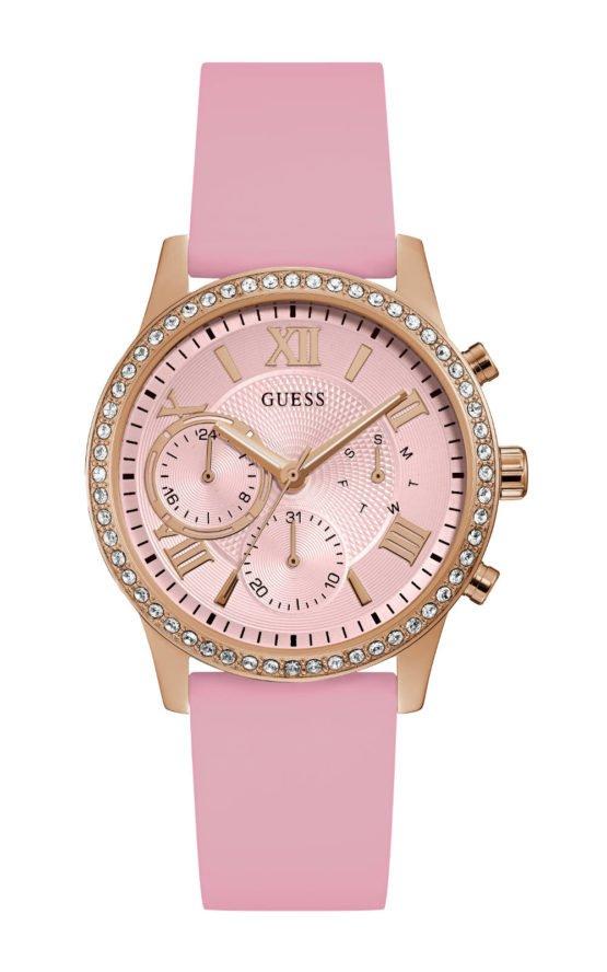 GUESS W1135L2 Γυναικείο Ρολόι Quartz Χρονογράφος Ακριβείας