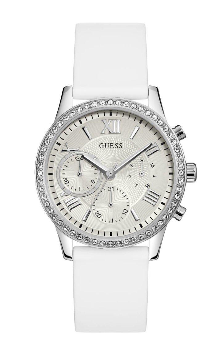 GUESS W1135L7 Γυναικείο Ρολόι Quartz Χρονογράφος Ακριβείας