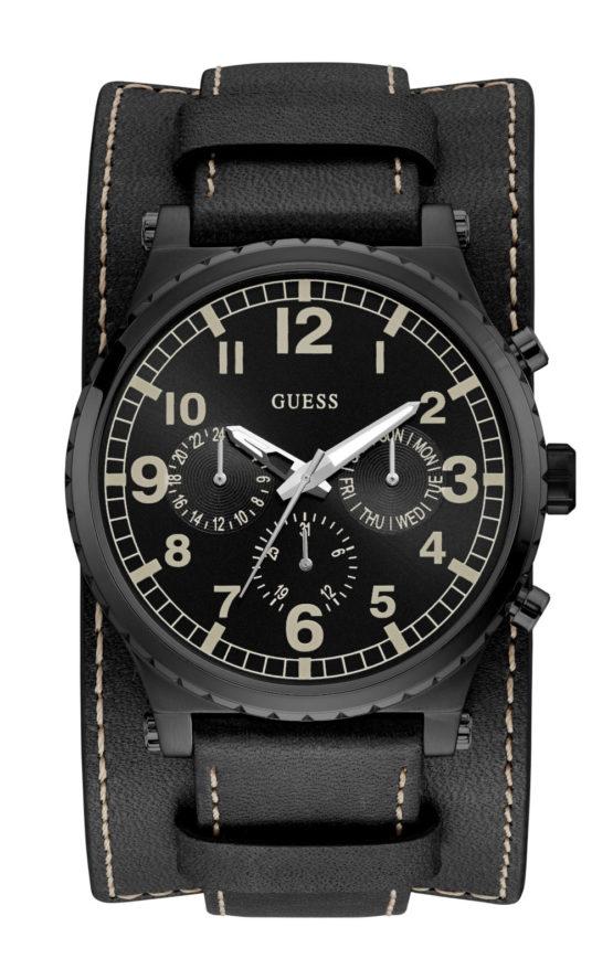 GUESS W1162G2 Ανδρικό Ρολόι Quartz Χρονογράφος Ακριβείας