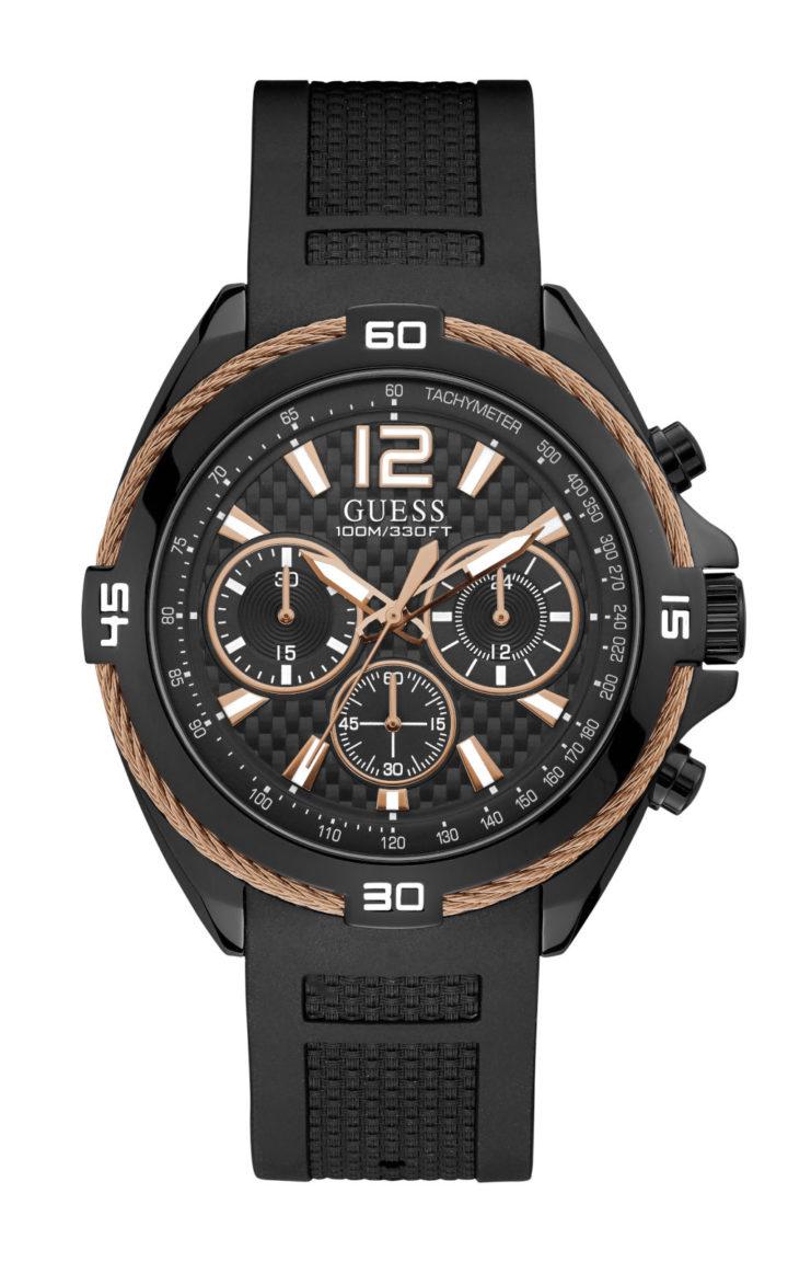 GUESS W1168G3 Ανδρικό Ρολόι Quartz Χρονογράφος Ακριβείας