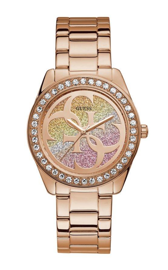 GUESS W1201L3 Γυναικείο Ρολόι Quartz Ακριβείας