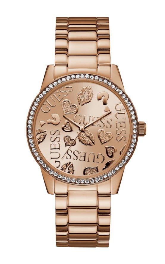 GUESS W1205L3 Γυναικείο Ρολόι Quartz Ακριβείας