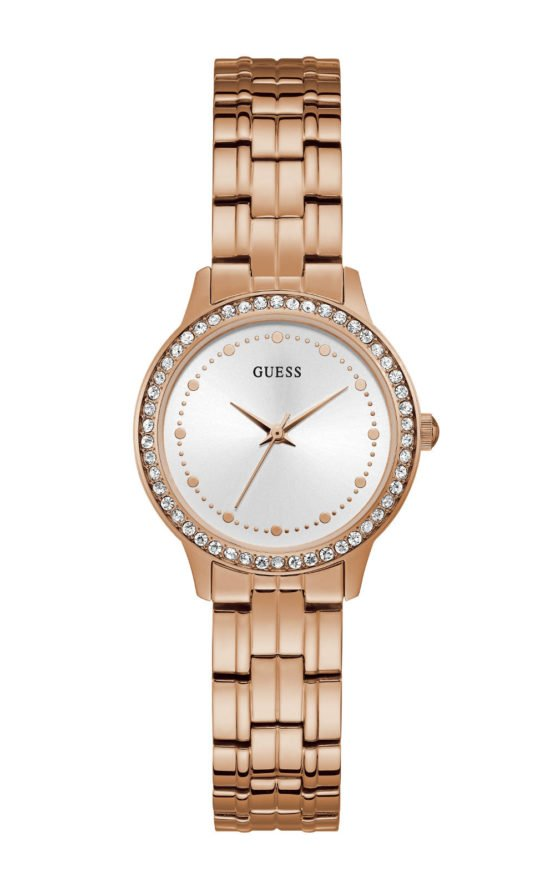 GUESS W1209L3 Γυναικείο Ρολόι Quartz Ακριβείας