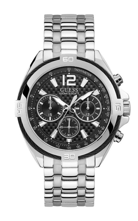 GUESS W1258G1 Ανδρικό Ρολόι Quartz Χρονογράφος Ακριβείας