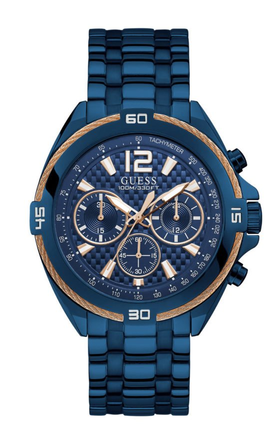 GUESS W1258G3 Ανδρικό Ρολόι Quartz Χρονογράφος Ακριβείας