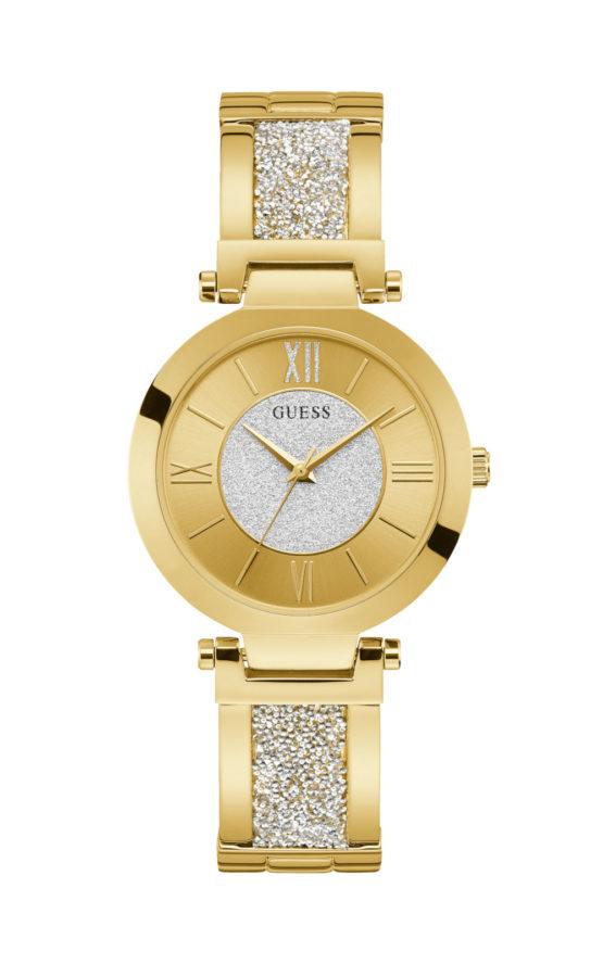 GUESS W1288L2 Γυναικείο Ρολόι Quartz Ακριβείας