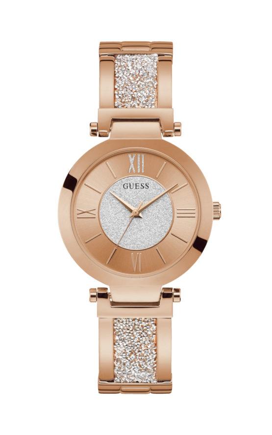 GUESS W1288L3 Γυναικείο Ρολόι Quartz Ακριβείας
