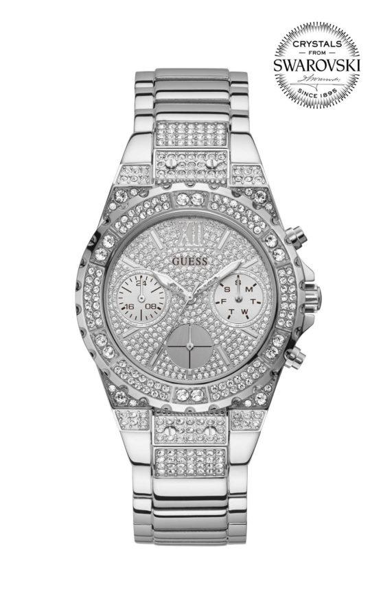 Guess APHRODITE GW0037L1 Γυναικείο Ρολόι Quartz Χρονογράφος Ακριβείας