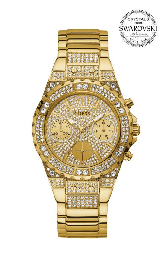 Guess APHRODITE GW0037L2 Γυναικείο Ρολόι Quartz Χρονογράφος Ακριβείας