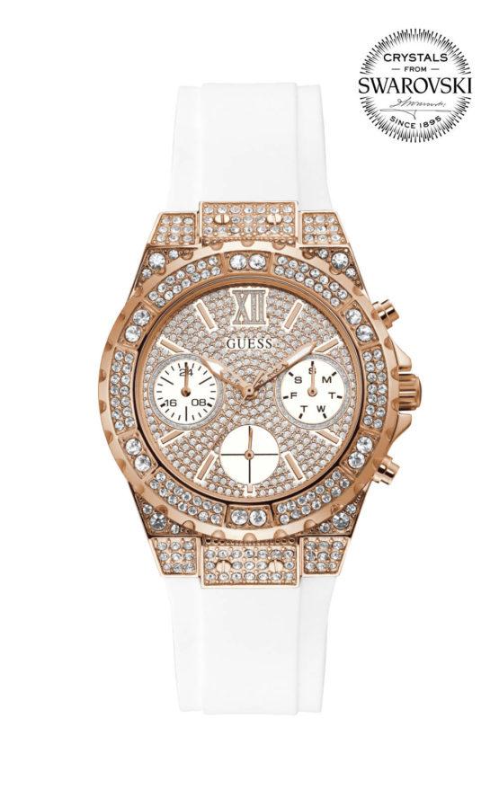 Guess APHRODITE GW0038L2 Γυναικείο Ρολόι Quartz Χρονογράφος Ακριβείας new
