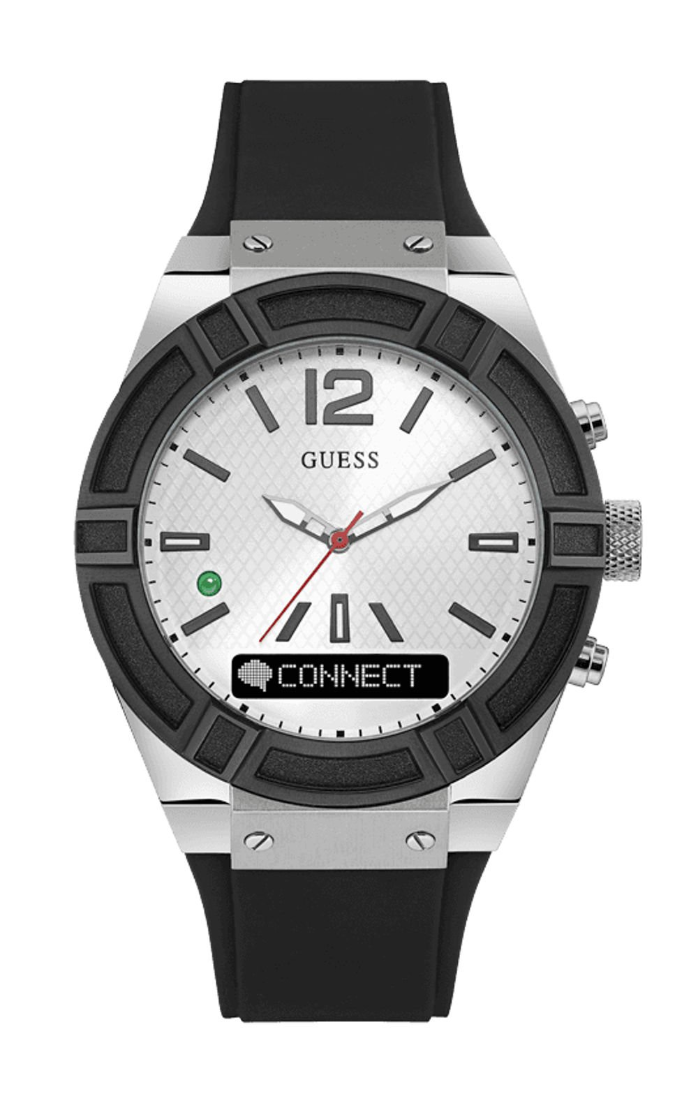 Guess-Connect-C0001G4-Ανδρικό-Ρολόι-Smartwatch
