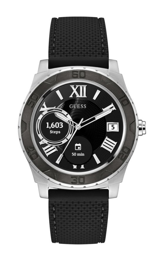 Guess Connect C1001G1 Ανδρικό Ρολόι Smartwatch