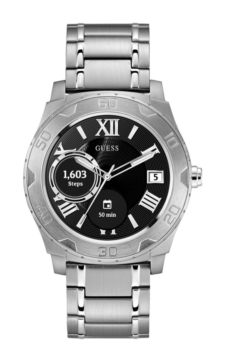 Guess Connect C1001G4 Ανδρικό Ρολόι Smartwatch