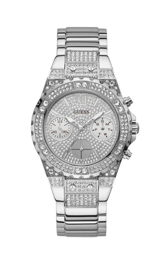 Guess GW0037L1 Γυναικείο Ρολόι Quartz Χρονογράφος Ακριβείας