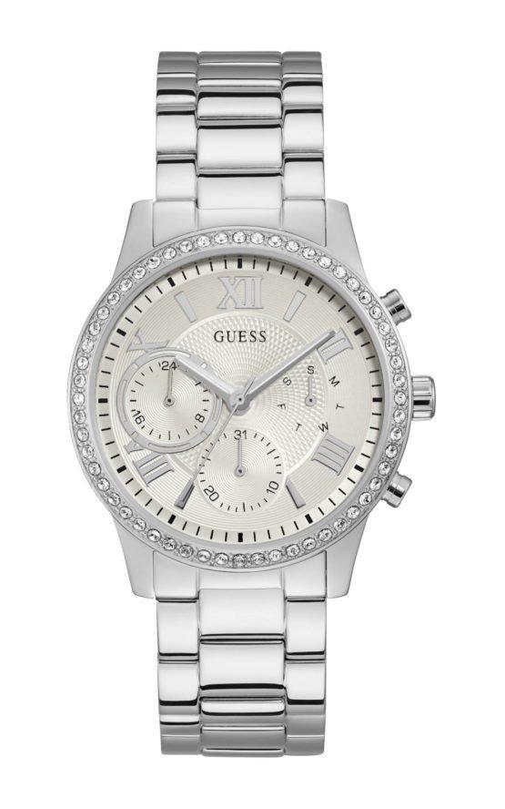 Guess W1069L1 Γυναικείο Ρολόι Quartz Χρονογράφος Ακριβείας